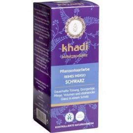 KHADI® - Tinta Vegetale per capelli Nero Puro Indigo